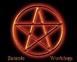 satanic pentagram copy